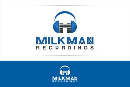 #31 untuk Create a logo and business card design for Milkman Recordings. oleh sdartdesign