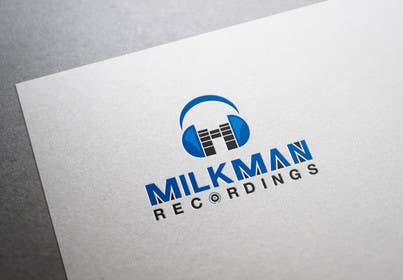 #33 untuk Create a logo and business card design for Milkman Recordings. oleh sdartdesign