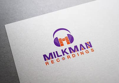 #34 untuk Create a logo and business card design for Milkman Recordings. oleh sdartdesign