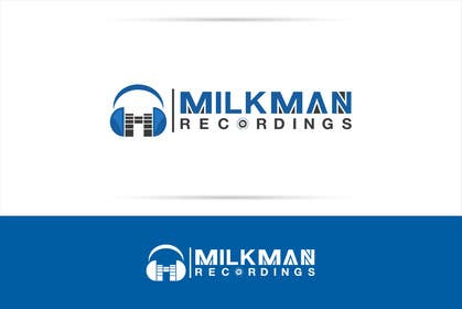 #35 untuk Create a logo and business card design for Milkman Recordings. oleh sdartdesign