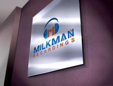 #40 untuk Create a logo and business card design for Milkman Recordings. oleh sdartdesign