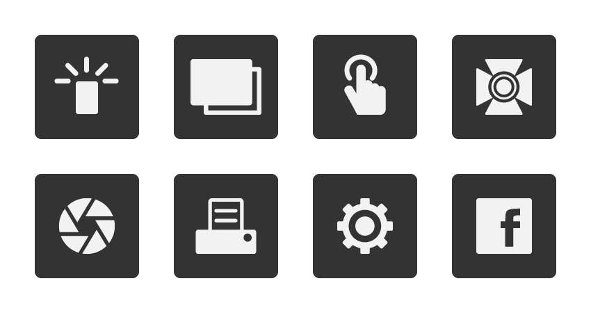 Contest Entry #                                        12                                      for                                         Design some Icons for product features