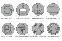 Graphic Design Contest Entry #5 for Design some Icons for product features