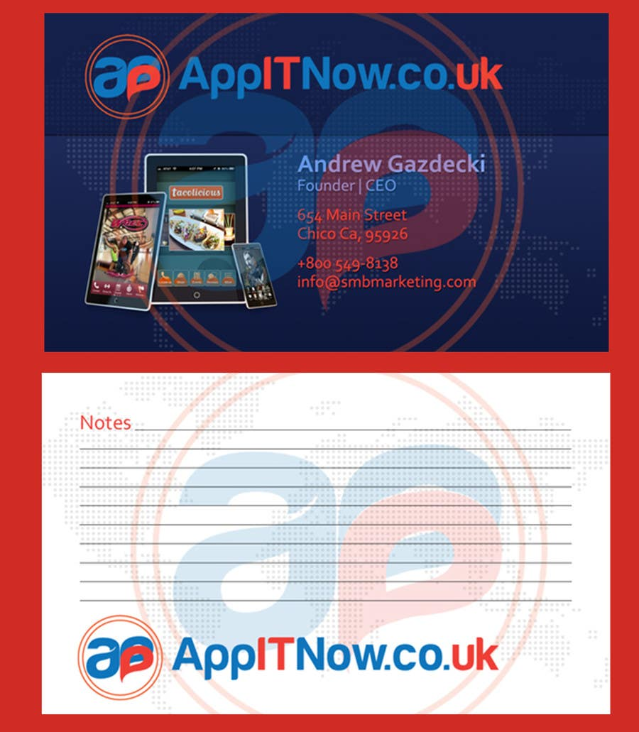 Contest Entry #                                        13                                      for                                         Design a Outstnading Logo & Business Card for Mobile APP Development Company