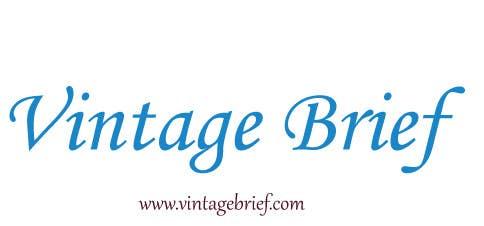 Inscrição nº 82 do Concurso para Vintage watches retailer name and baseline