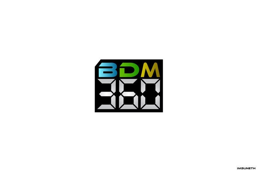 Contest Entry #                                        60                                      for                                         Design a Logo for BDM360