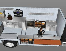 #24 cho to Make 3d design for a Food Truck bởi ahmedelshenawy