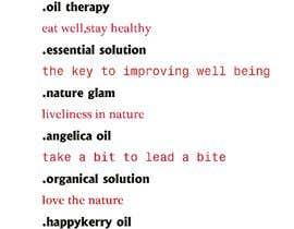 #122 for Brand Name and Slogan for CBD Oil Product af fardinislamfahim