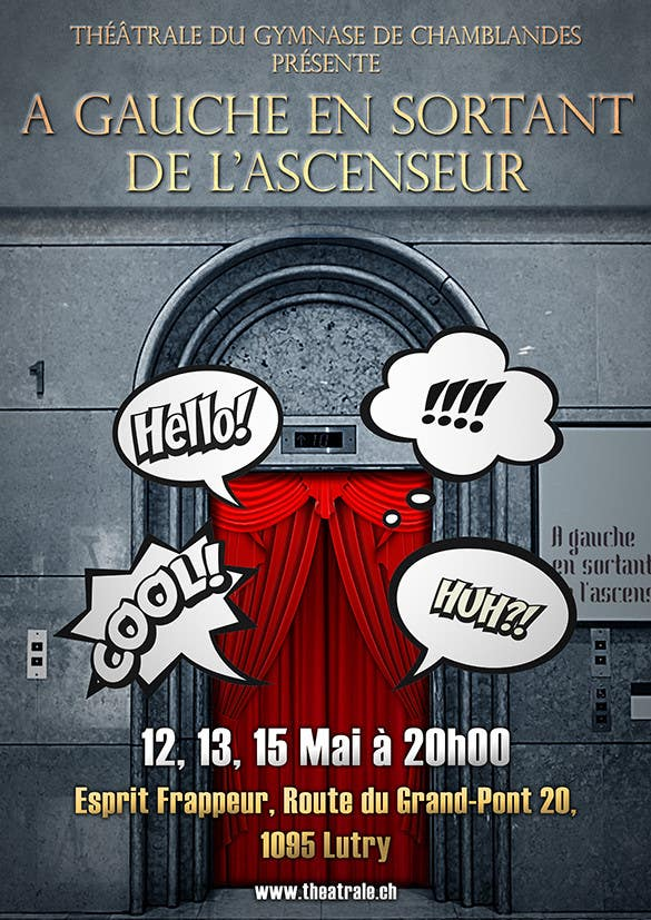 Proposition n°                                        25                                      du concours                                         Design a Flyer for Theatrical Comedy