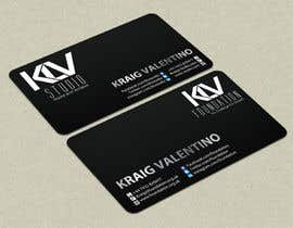 #194 for Design some Business Cards for KLV Studio by smshahinhossen