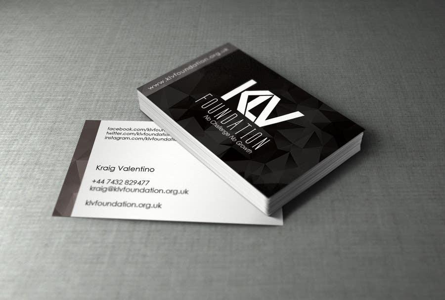 Konkurrenceindlæg #                                        47                                      for                                         Design some Business Cards for KLV Studio