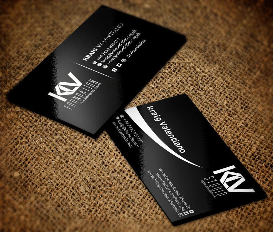 Konkurrenceindlæg #                                        184                                      for                                         Design some Business Cards for KLV Studio