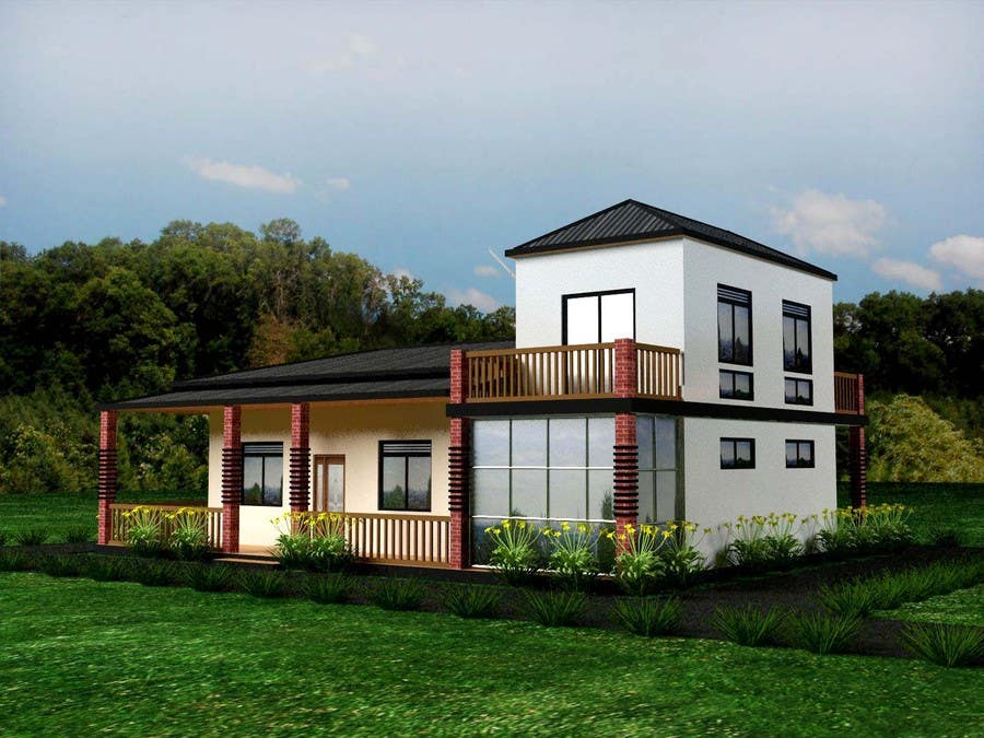 Bài tham dự cuộc thi #35 cho Model a home and add new elements