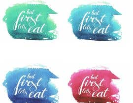 #242 for Design a Logo for but first, let's eat by layniepritchard