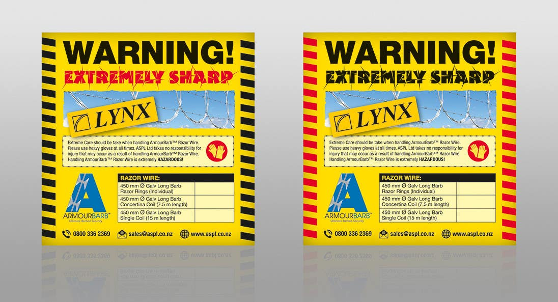 Contest Entry #                                        5                                      for                                         Product Packaging Warning Label