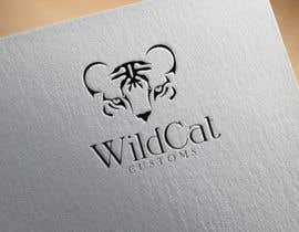 #47 for Design a Logo for Wild Cat Customs by donmute