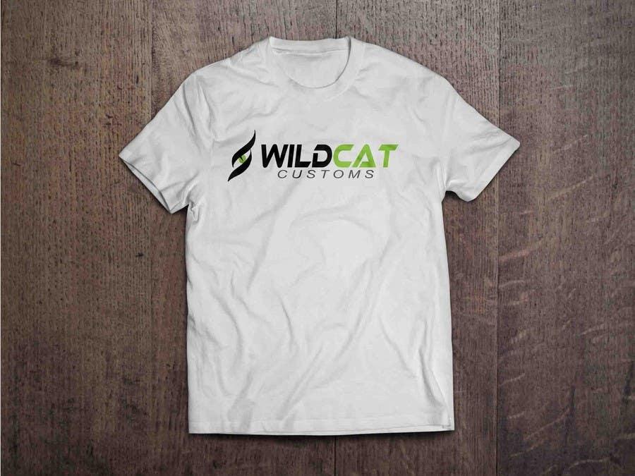 Kilpailutyö #62 kilpailussa Design a Logo for Wild Cat Customs
