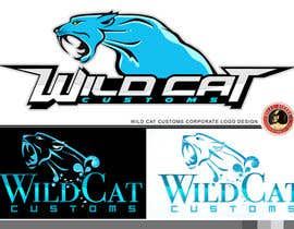 #74 for Design a Logo for Wild Cat Customs by KilaiRivera