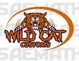 #80 untuk Design a Logo for Wild Cat Customs oleh saemath