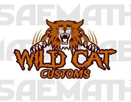 #81 untuk Design a Logo for Wild Cat Customs oleh saemath