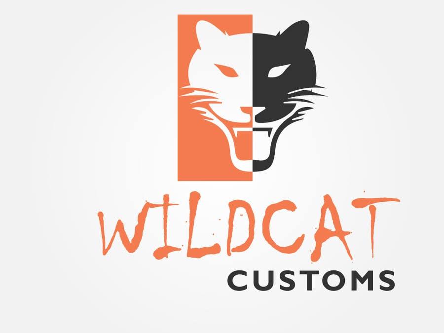 Kilpailutyö #49 kilpailussa Design a Logo for Wild Cat Customs