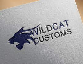 #11 untuk Design a Logo for Wild Cat Customs oleh esameisa