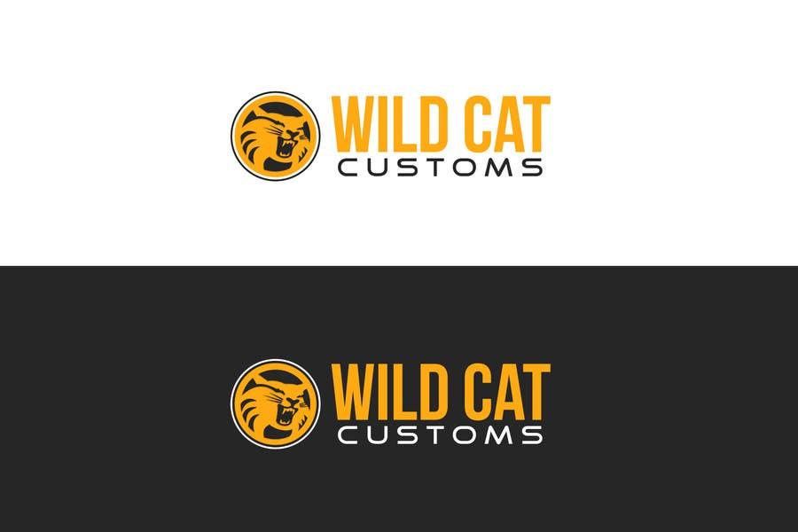 Kilpailutyö #35 kilpailussa Design a Logo for Wild Cat Customs