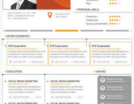 #15 for Premium Quality Resume Design (PSD) - I'LL SELECT MULTIPLE WINNERS! af yugi1986