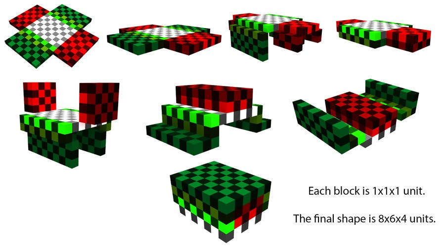 Proposition n°4 du concours create the smallest possible shape