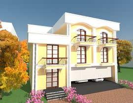 Nro 4 kilpailuun Modern House Exterior Design or  Facade/Frontage Design based on Vernacular Architecture käyttäjältä Nileshkrlayek
