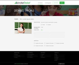 #36 untuk Design a Website Mockup and a Logo for KinderRelief oleh kreativeminds