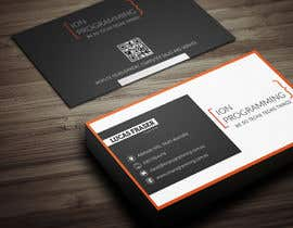 #9 untuk Design some Business Cards for Ion Programming oleh Fgny85