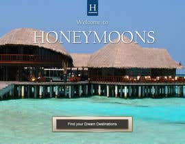 #36 for Website Design for Honeymoons website by andrewdigger