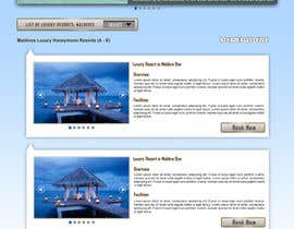 #38 untuk Website Design for Honeymoons website oleh andrewdigger