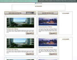 #46 untuk Website Design for Honeymoons website oleh andrewdigger