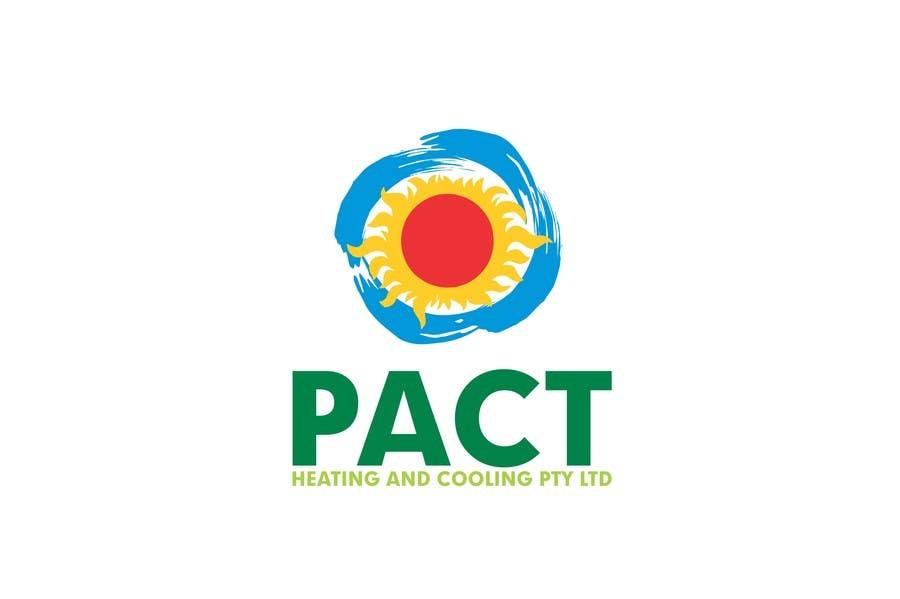 Penyertaan Peraduan #65 untuk Logo Design for Pact Heating