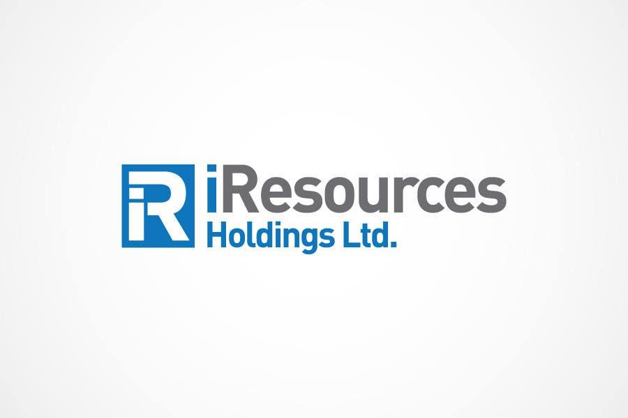 Inscrição nº 285 do Concurso para Logo Design for iResources Holdings Limited