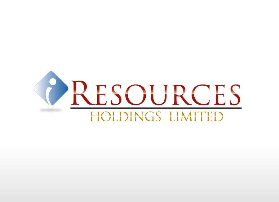 Inscrição nº 150 do Concurso para Logo Design for iResources Holdings Limited