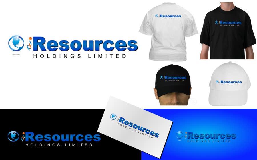 Inscrição nº 170 do Concurso para Logo Design for iResources Holdings Limited