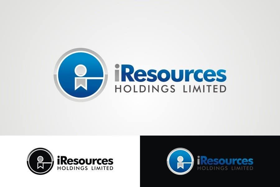 Inscrição nº 44 do Concurso para Logo Design for iResources Holdings Limited