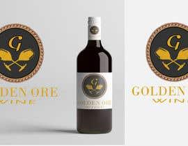 #803 for Golden Ore Wine Label af tariqul161