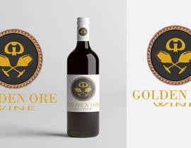 #810 for Golden Ore Wine Label af tariqul161