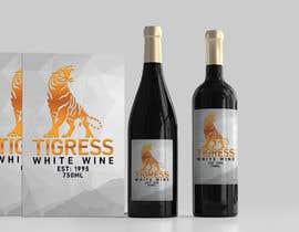 Nro 741 kilpailuun Tigress Wine Label Creation käyttäjältä nozrulislam2020