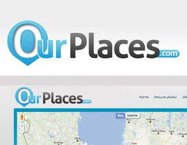 #166 para Logo Customizing for Web startup. Ourplaces Inc. de bitbyteworld