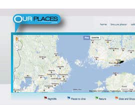 #258 untuk Logo Customizing for Web startup. Ourplaces Inc. oleh saledj2010