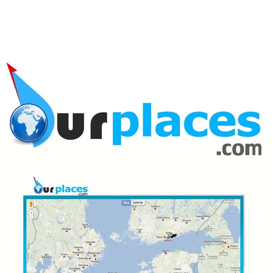 Penyertaan Peraduan #261 untuk Logo Customizing for Web startup. Ourplaces Inc.