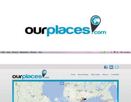 #190 para Logo Customizing for Web startup. Ourplaces Inc. de mavrosa