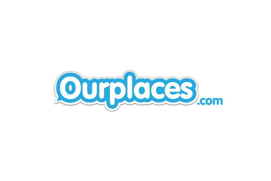 Penyertaan Peraduan #363 untuk Logo Customizing for Web startup. Ourplaces Inc.