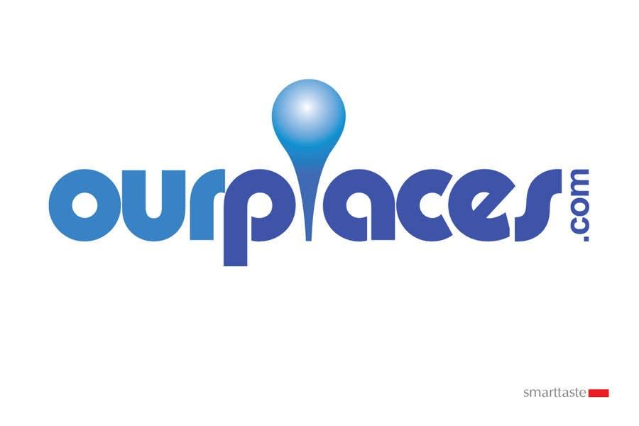 Bài tham dự cuộc thi #321 cho Logo Customizing for Web startup. Ourplaces Inc.