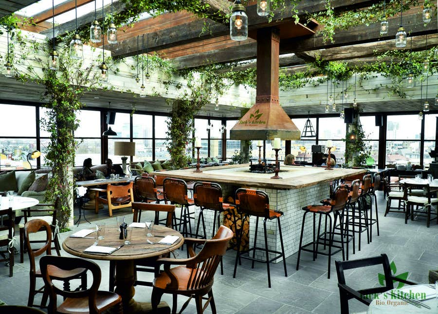 Konkurrenceindlæg #58 for Design a Logo for a bio-organic restaurant